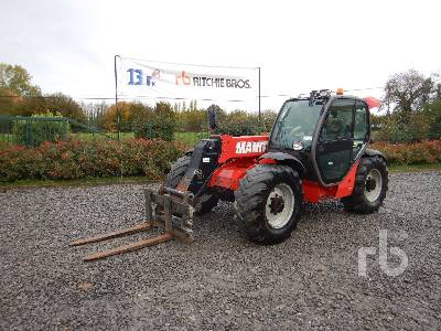 2014 MANITOU MLT735-120PS Telescopic Forklift