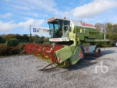 1990 CLAAS DOMINATOR 108S Moissonneuse Batteuse Small Grain Combine