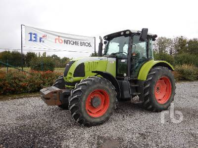 2007 CLAAS ARES 697ATZ 4WD Agricultural Tractor MFWD Tractor