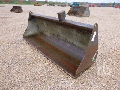 Godet 2350 mm Telescopic Forklift Bucket