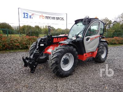2019 MANITOU MLT737 PS+ Telescopic Forklift