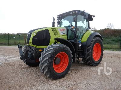 2016 CLAAS AXION 810 CMATI 4WD Agricultural Tractor MFWD Tractor