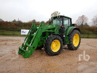 2009 JOHN DEERE 7430 PREMIUM 4WD Agricultural Tractor MFWD Tractor
