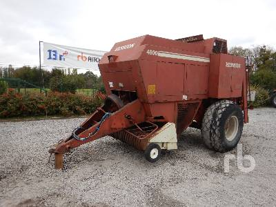 1996 HESSTON 4800 Baler S/A Parts/Stationary Construction-Other