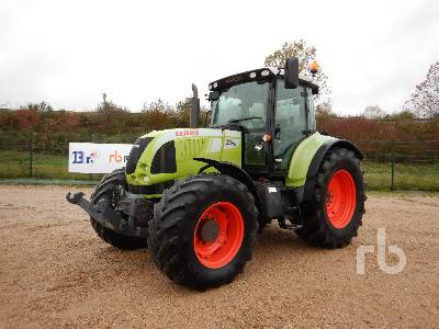 2011 CLAAS ARION 640 CEBIS 4WD Agricultural Tractor MFWD Tractor