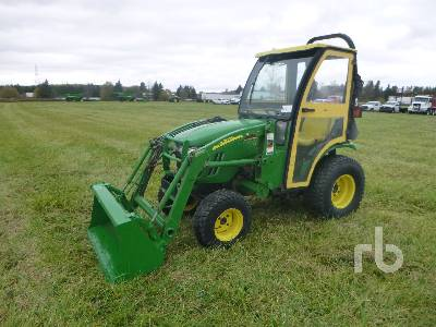 2008 JOHN DEERE 2320 HST Utility Tractor
