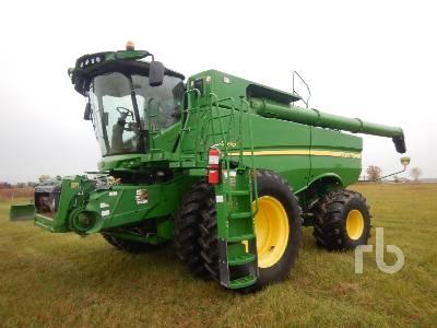 2015 JOHN DEERE S690 Combine
