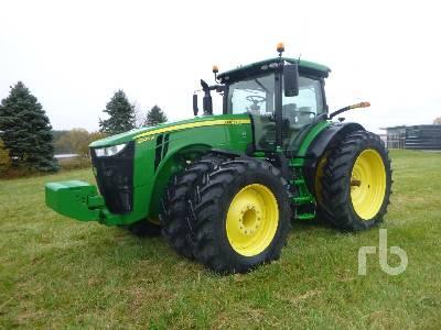 2018 JOHN DEERE 8320R MFWD Tractor