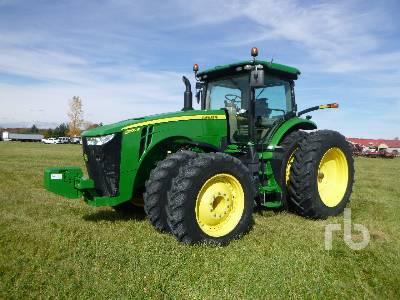 2017 JOHN DEERE 8295R MFWD Tractor