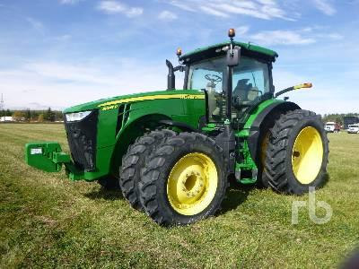 2016 JOHN DEERE 8245R MFWD Tractor