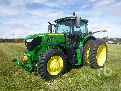 2018 JOHN DEERE 6155R MFWD Tractor