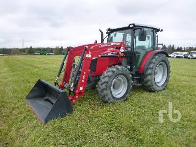2016 MASSEY FERGUSON 4710 MFWD Tractor