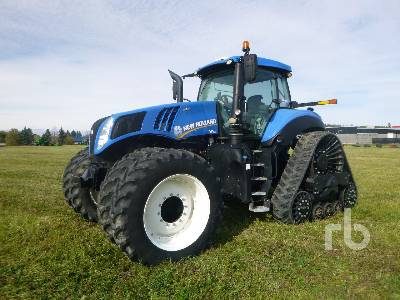 2014 NEW HOLLAND T8.435 Smarttrax MFWD Tractor