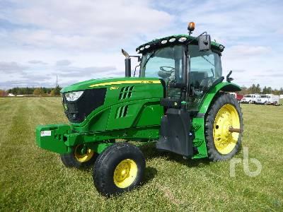 2017 JOHN DEERE 6155R 2WD Tractor