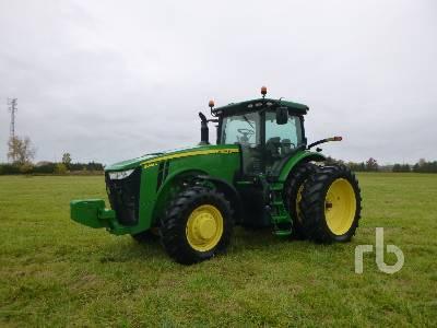 2017 JOHN DEERE 8245R MFWD Tractor