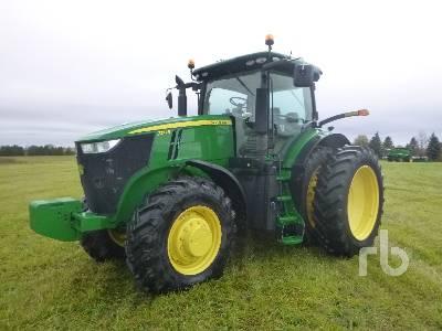 2016 JOHN DEERE 7210R MFWD Tractor