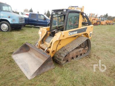 2007 JOHN DEERE CT322 2 Spd Multi Terrain Loader