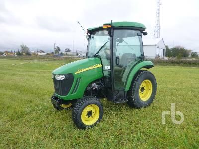 2011 JOHN DEERE 3720 Utility Tractor