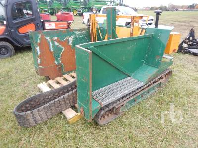 KESMAC Crawler Stand Up Sod Forklift