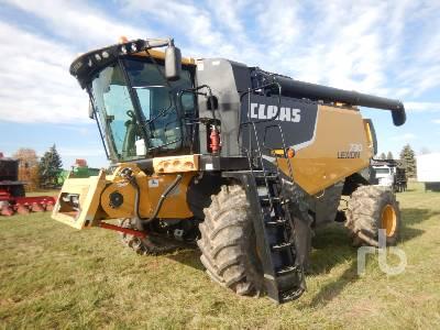 2012 CLAAS LEXION 730 Combine