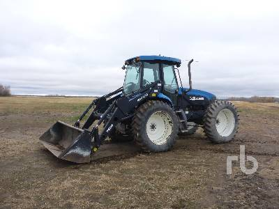 1998 NEW HOLLAND TV140 Bi-Directional Tractor