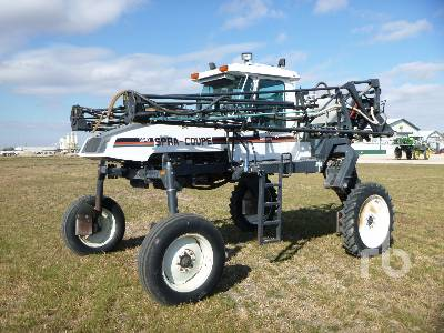 1997 SPRACOUPE 3640 60 Ft High Clearance Sprayer