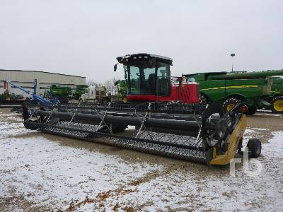 2015 MASSEY FERGUSON WR9740 30 Ft Swather
