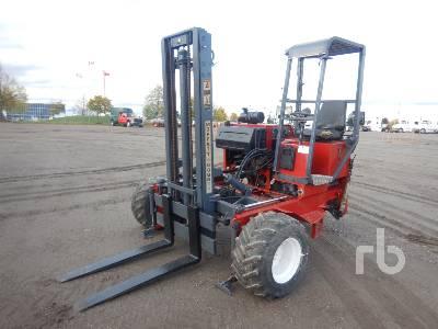 2003 MOFFETT M5000 5000 Lb Truck Mounted Forklift