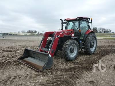 2016 CASE IH MAXXUM 150 MC T MFWD Tractor