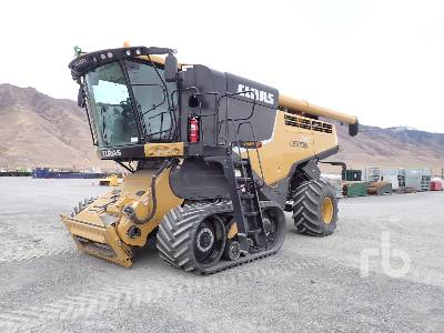 2015 CLAAS LEXION 740TT Tracked Combine