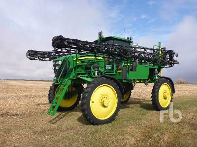 2013 JOHN DEERE 4830 100 Ft High Clearance Sprayer