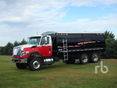 2012 INTERNATIONAL 7500 SBA 6X4 Workstar T/A Grain Truck