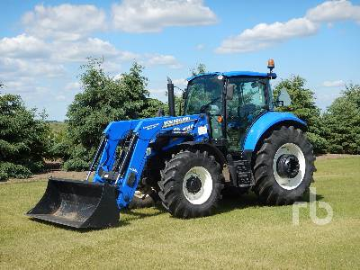 2014 NEW HOLLAND T5.115 MFWD Tractor