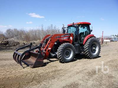 2006 CASE IH MXU135 MFWD Tractor