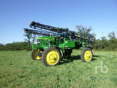 2003 JOHN DEERE 4710 100 Ft High Clearance Sprayer