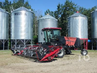 2005 CASE IH WDX1002S 25 Ft Swather