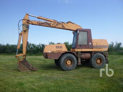 1983 CASE 1285 Cruz-Air Mobile Excavator