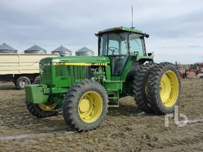 1993 JOHN DEERE 4560 MFWD Tractor