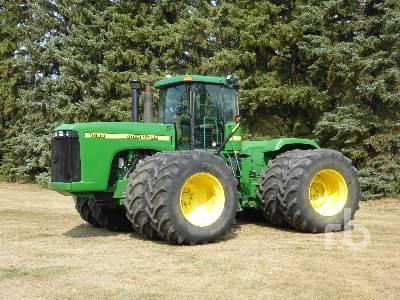 2001 JOHN DEERE 9400 4WD Tractor