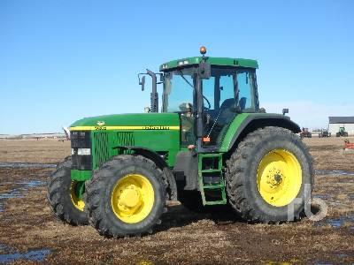 1997 JOHN DEERE 7610 MFWD Tractor