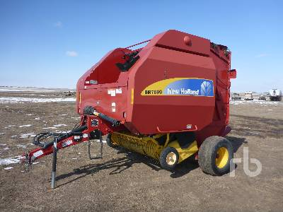 2012 NEW HOLLAND BR7090 Round Baler