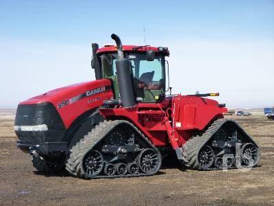 2014 CASE IH STEIGER 550 Quadtrac Track Tractor