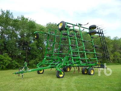2012 JOHN DEERE 2410 43 Ft Deep Tillage Cultivator