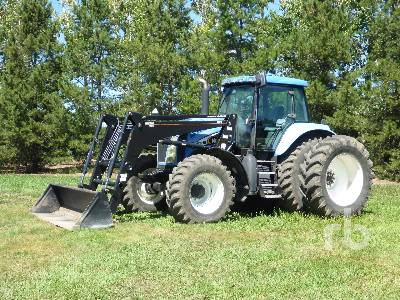 2004 NEW HOLLAND TG210 MFWD Tractor