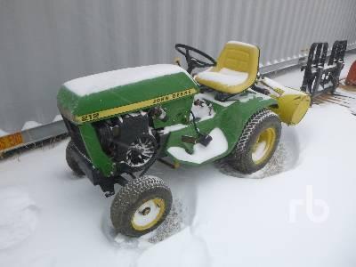 1975 JOHN DEERE 212 Garden Tractor