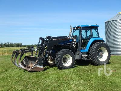 1996 NEW HOLLAND 8770 MFWD Tractor