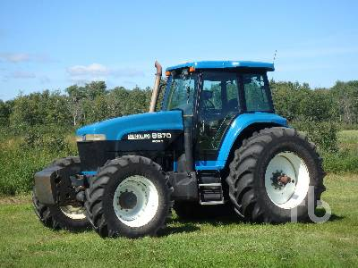 1996 NEW HOLLAND 8870 MFWD Tractor