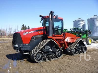 2009 CASE IH 435 Quadtrac Track Tractor