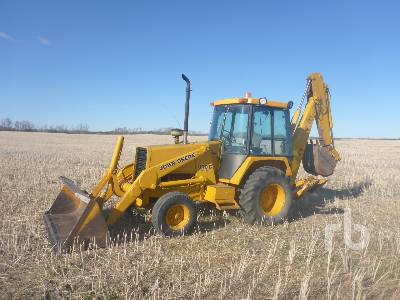 1987 JOHN DEERE 310C Turbo Loader Backhoe