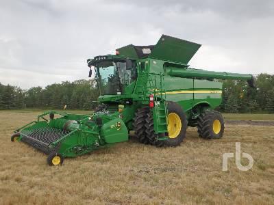 2012 JOHN DEERE S680 RWA Combine